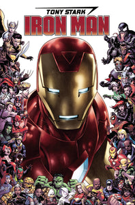 TONY STARK IRON MAN #15 CHEUNG MARVEL 80TH FRAME VARIANT 08/21/19 FOC 07/29/19