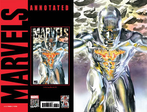 MARVELS ANNOTATED #3 (OF 4) ALEX ROSS VIRGIN VARIANT 05/08/19