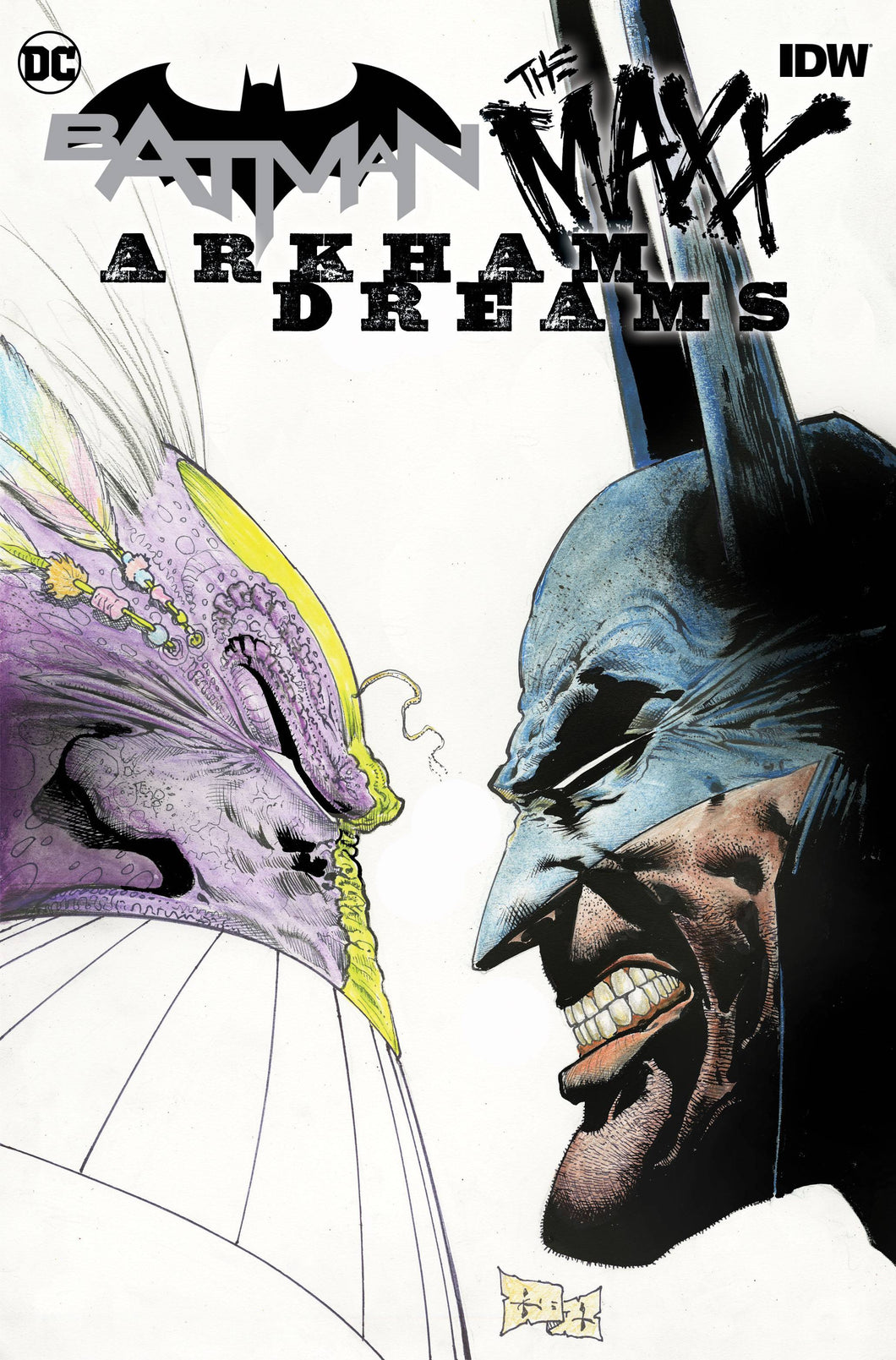 BATMAN THE MAXX #1 (OF 5) ARKHAM DREAMS CVR A KIETH 10/03