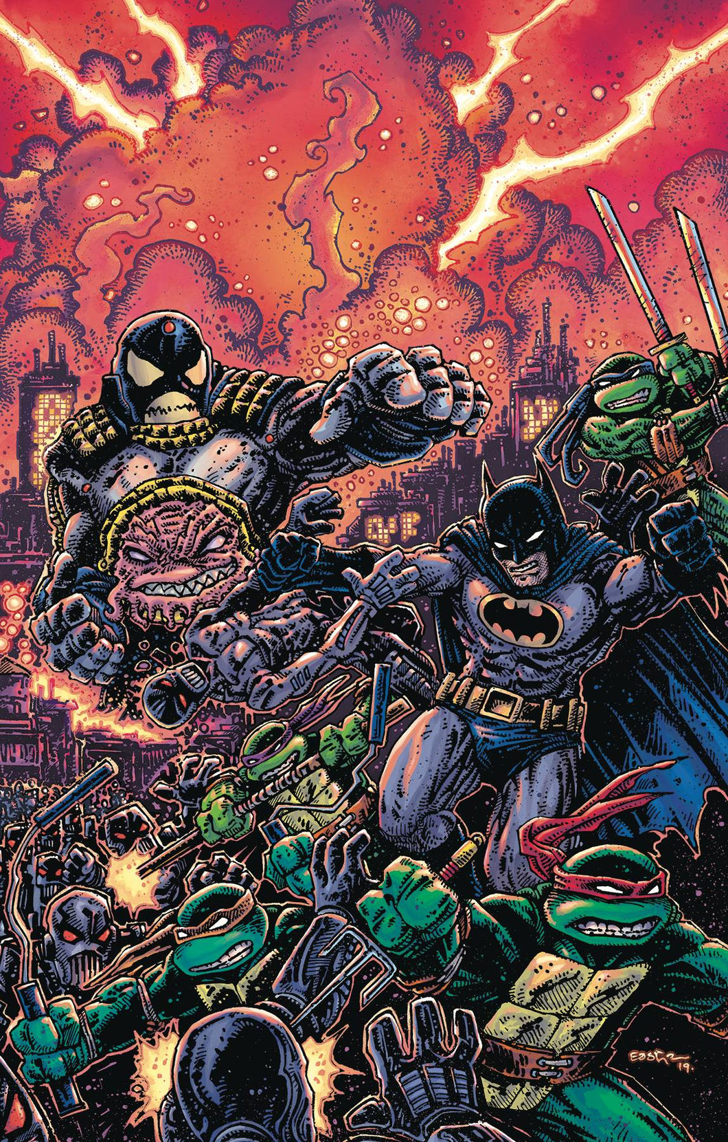 BATMAN TEENAGE MUTANT NINJA TURTLES III #6 (OF 6) VAR ED 10/02/19 FOC 09/09/19