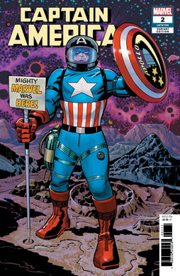 CAPTAIN AMERICA #2 KIRBY REMASTERED VARIANT FOC 07/09
