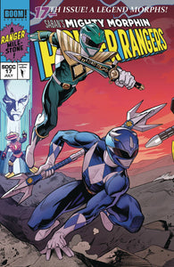 MIGHTY MORPHIN POWER RANGERS #17 MORA SDCC EXCL VARIANT 01/02/19