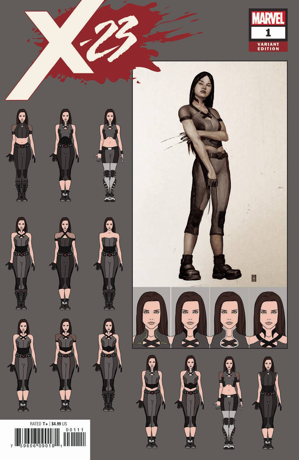 X-23 #1 CHOI DESIGN 1:10 INCENTIVE VARIANT FOC 06/18 (ADVANCE ORDER)