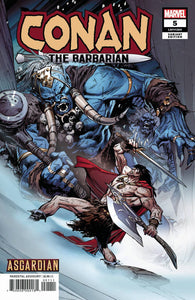 CONAN THE BARBARIAN #5 GUICE ASGARDIAN VARIANT 04/03/19 FOC 03/11/19