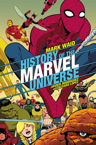 HISTORY OF MARVEL UNIVERSE #3 (OF 6) RODRIGUEZ VAR 09/18/19 FOC 08/26/19