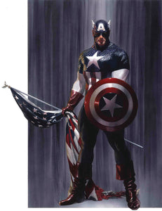 CAPTAIN AMERICA #2 FOC 07/09