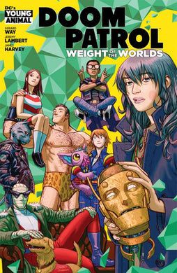 DOOM PATROL WEIGHT OF THE WORLDS #1  07/03/19 FOC 06/10/19