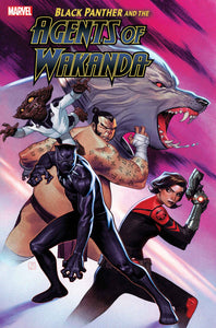 BLACK PANTHER AND AGENTS OF WAKANDA #2 10/16/19 FOC 09/23/19