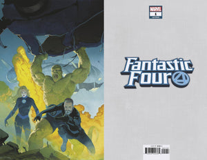 FANTASTIC FOUR #1 RIBIC 1:100 VIRGIN VARIANT FOC 07/16