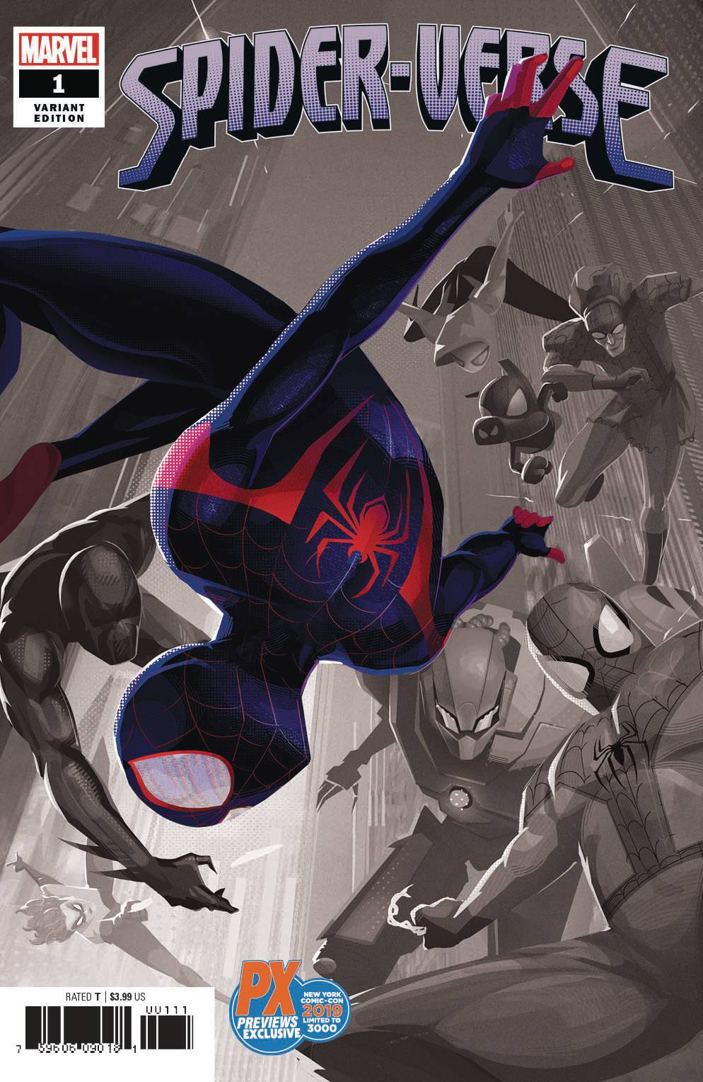 NYCC 2019 SPIDER-VERSE #1 (OF 6) DALIT VARIANT 10/09/19