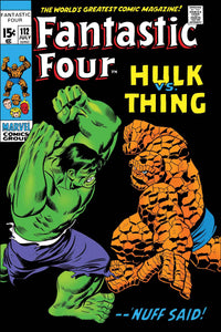 TRUE BELIEVERS FANTASTIC FOUR HULK VS THING #1 FOC 06/18
