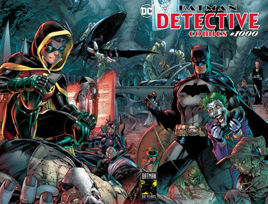 DETECTIVE COMICS #1000 JIM LEE COVER 03/27/19 FOC 02/18/19