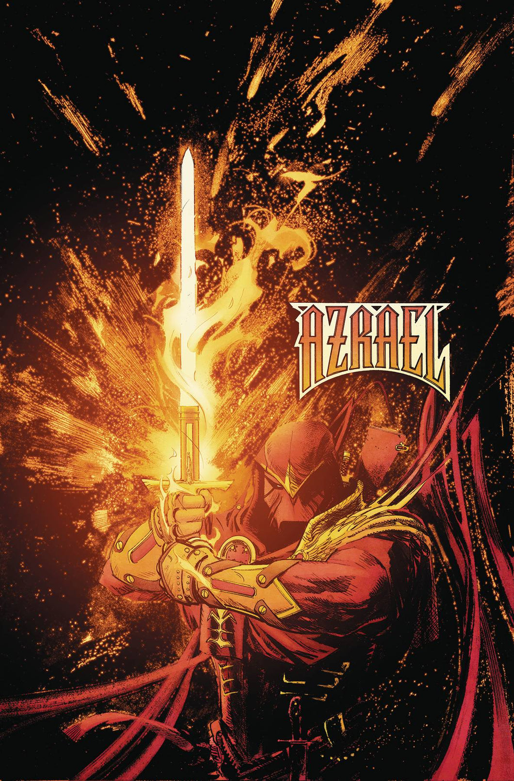 BATMAN CURSE OF THE WHITE KNIGHT #1 (OF 8) AZRAEL VARIANT  07/24/19 FOC 07/01/19