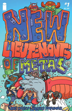 NEW LIEUTENANTS OF METAL #1 (OF 4) FOC 06/11 (ADVANCE ORDER)