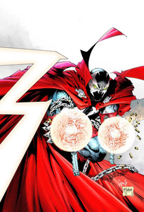 SPAWN #300 CVR K 1:25 CAPULLO & MCFARLANE VIRGIN 09/04/19 FOC 08/12/19