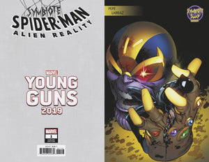 SYMBIOTE SPIDER-MAN ALIEN REALITY #1 (OF 5) LARRAZ YOUNG GUNS 12/11/19 FOC 11/11/19