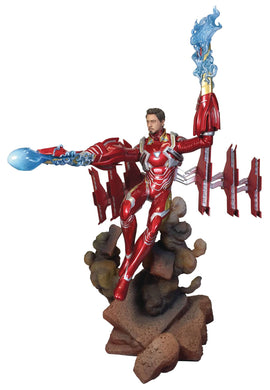 MARVEL GALLERY AVENGERS 3 UNMASKED IRON MAN MK50 DLX PVC FOC 02/01/19