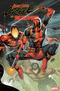 ABSOLUTE CARNAGE VS DEADPOOL #3 (OF 3) LIEFELD CONNECTING VARIANT 10/16/19 FOC 09/23/19