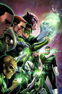 HAL JORDAN AND THE GREEN LANTERN CORPS #50 TYLER KIRKHAM VARIANT ED FOC 07/16
