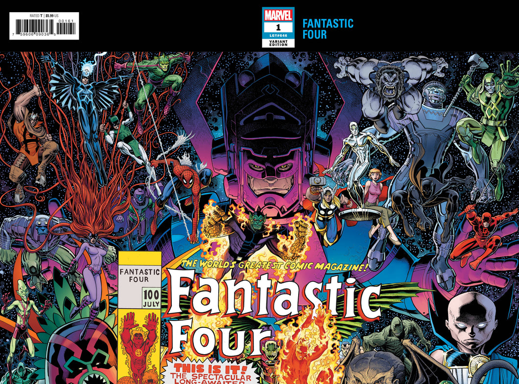 FANTASTIC FOUR #1 ART ADAMS CONNECTING WRAPAROUND VARIANT FOC 07/16