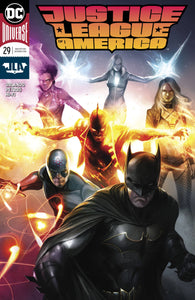 JUSTICE LEAGUE OF AMERICA #29 MATTINA VARIANT RELEASE DATE 04/25