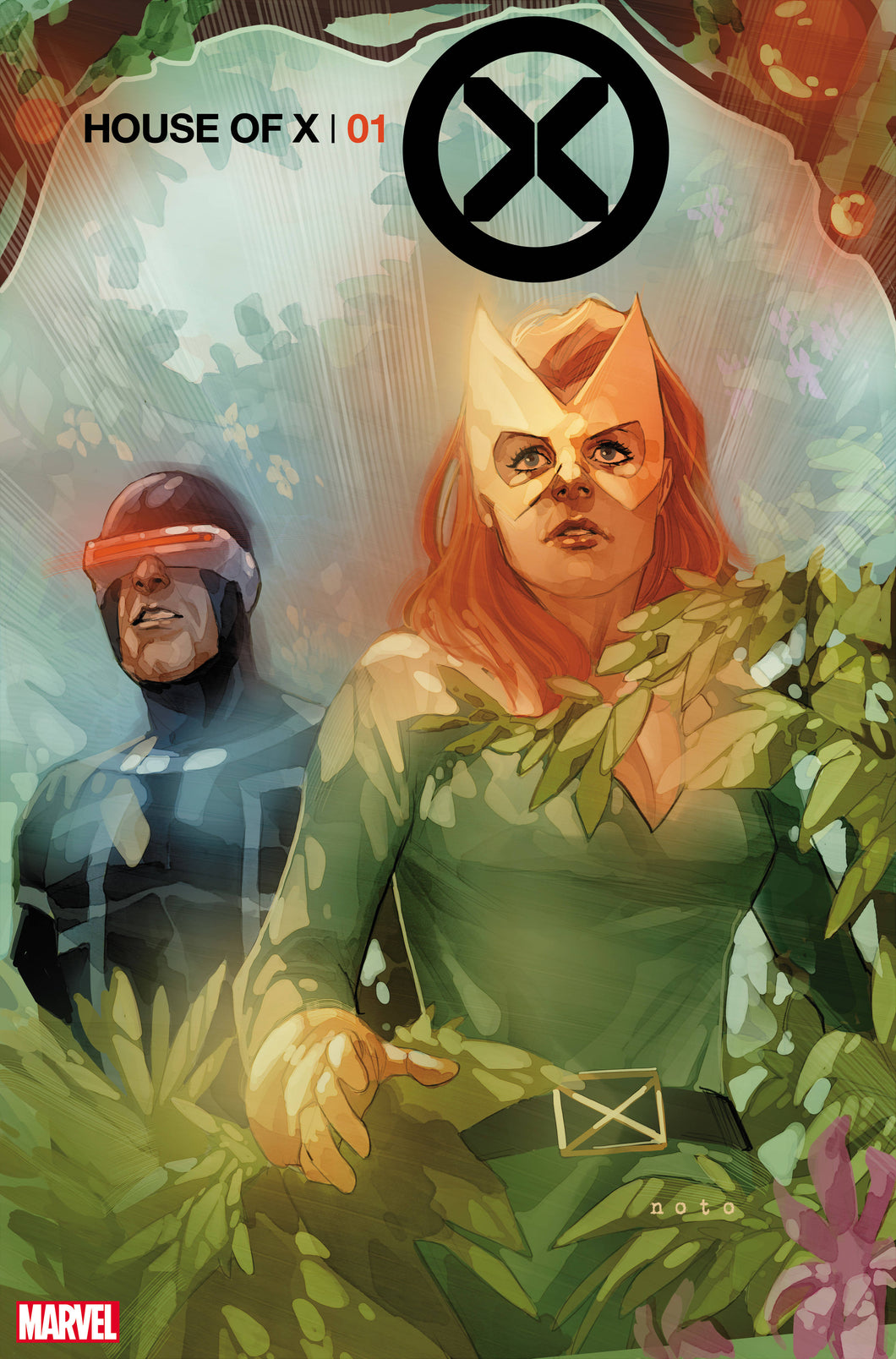 HOUSE OF X #1 NOTO 1:25 VARIANT 07/24/19 FOC 07/01/19