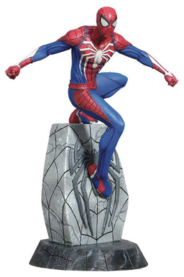 MARVEL GALLERY SPIDER-MAN PS4 PVC FIGURE FOC 02/01/19