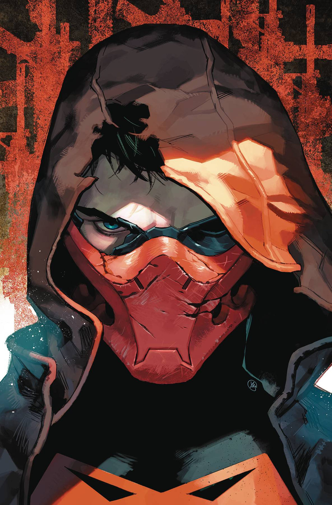 RED HOOD OUTLAW #36 CARD STOCK VAR ED YOTD THE OFFER 07/10/19 FOC 06/17/19