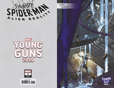 SYMBIOTE SPIDER-MAN ALIEN REALITY #1 GARRON YOUNG GUNS 12/11/19 FOC 11/11/19