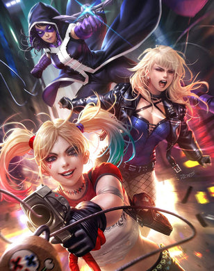 HARLEY QUINN AND THE BIRDS OF PREY #1 (OF 4) DERRICK CHEW VARIANT 02/12/20 FOC 01/13/20