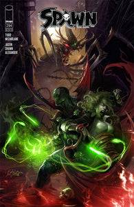 SPAWN #294 MATTINA COVER A 02/27/19 FOC 02/04/19