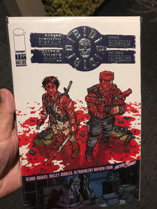 DIE DIE DIE #1 BOXED SET W/ AF AND SILVER FOIL COMIC REGULAR VERSION SDCC 2018 EXCLUSIVES