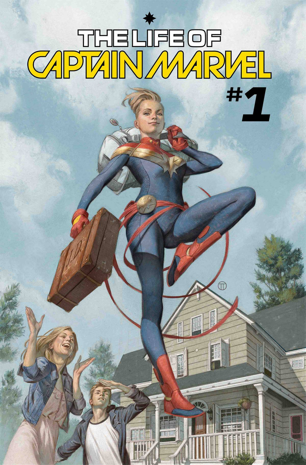 LIFE OF CAPTAIN MARVEL #1 (OF 5)  FOC 06/25