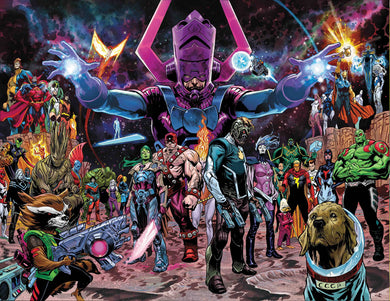 GUARDIANS OF THE GALAXY #1 SHAW WRAPAROUND VARIANT 01/23/19