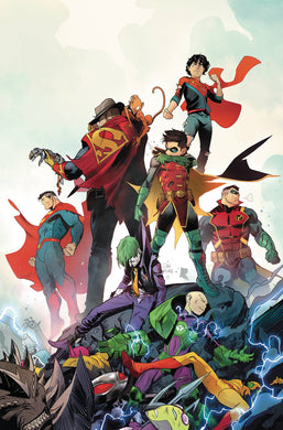 ADVENTURES OF THE SUPER SONS #12 (OF 12) 07/03/19 FOC 06/10/19
