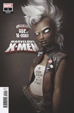 AGE OF X-MAN MARVELOUS X-MEN #1 (OF 5) HUGO VARIANT 02/06/19 FOC 01/14/19