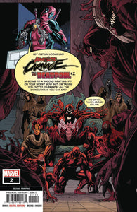 ABSOLUTE CARNAGE VS DEADPOOL #2 (OF 3) 2ND PTG FERREIRA VARIANT 10/16/19 FOC 09/23/19