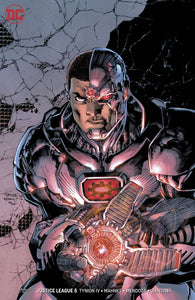 JUSTICE LEAGUE #5 JIM LEE VARIANT  FOC 07/09