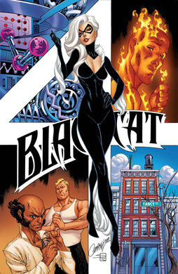 BLACK CAT #4 J SCOTT CAMPBELL COVER 09/11/19 FOC 08/19/19
