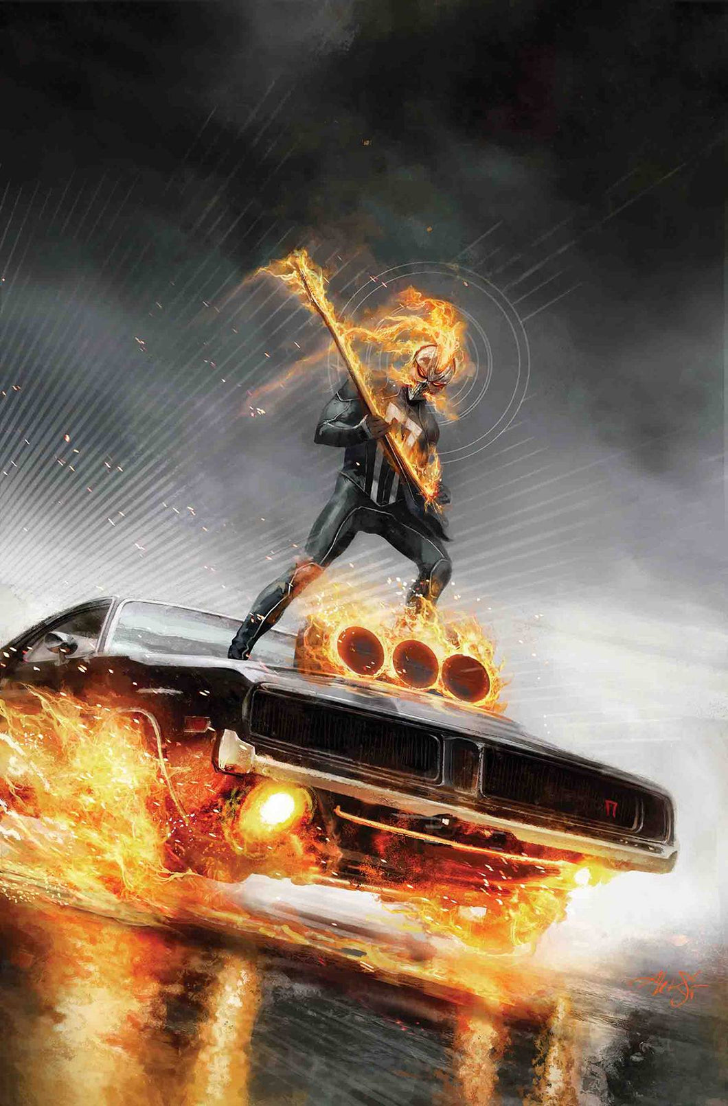 WHAT IF? GHOST RIDER #1 FOC 09/24
