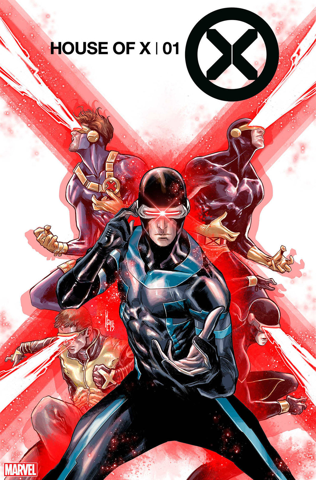 HOUSE OF X #1 (OF 6) CHARACTER DECADES VARIANT 07/24/19 FOC 07/01/19
