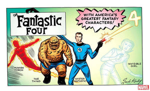 FANTASTIC FOUR #1 KIRBY HIDDEN GEM VAR FOC 07/16