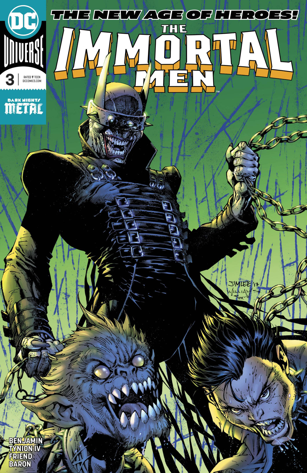 IMMORTAL MEN #3 JIM LEE   06/13