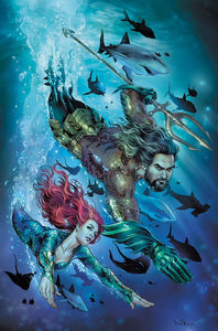 AQUAMAN #43 VARIANT COVER 12/19
