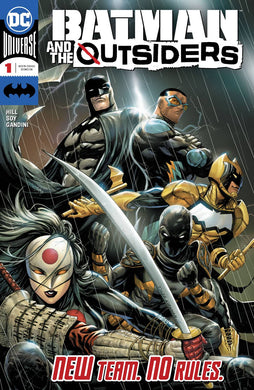 BATMAN AND THE OUTSIDERS #1 05/08/19 FOC 04/15/19