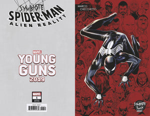 SYMBIOTE SPIDER-MAN ALIEN REALITY #1 CHECCHETTO YOUNG GUNS 12/11/19 FOC 11/11/19