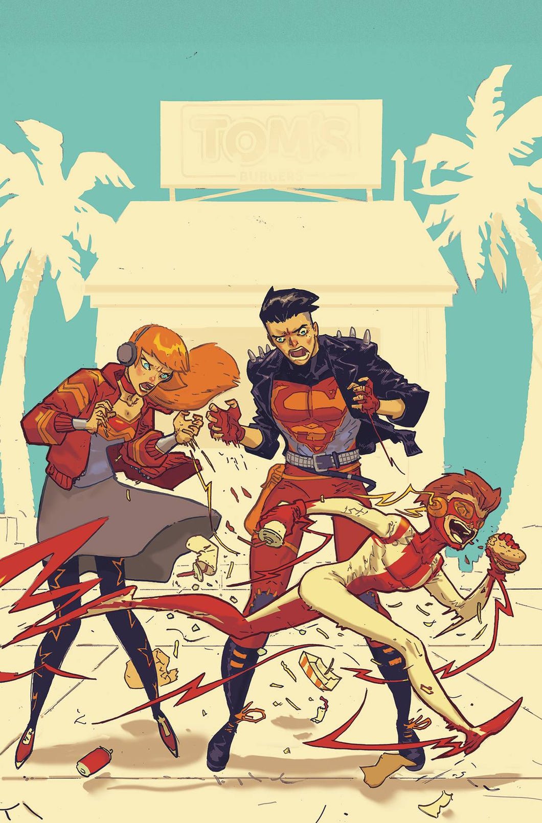 YOUNG JUSTICE #7 VAR ED  07/03/19 FOC 06/10/19