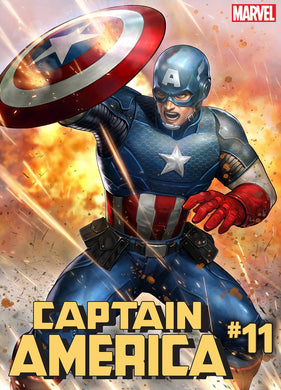 CAPTAIN AMERICA #11 YOON LEE MARVEL BATTLE LINES VAR 06/19/19 FOC 05/27/19