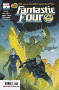 FANTASTIC FOUR #1 FOC 07/16 30% OFF