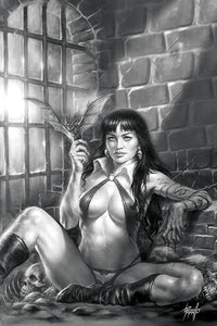 VAMPIRELLA #11 1:50 COPY PARRILLO VIRGIN B&W VARIANT